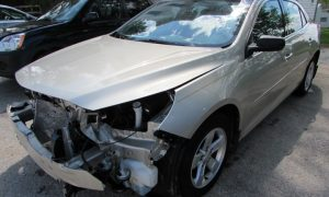 2014 Chevy Malibu LS Front Left