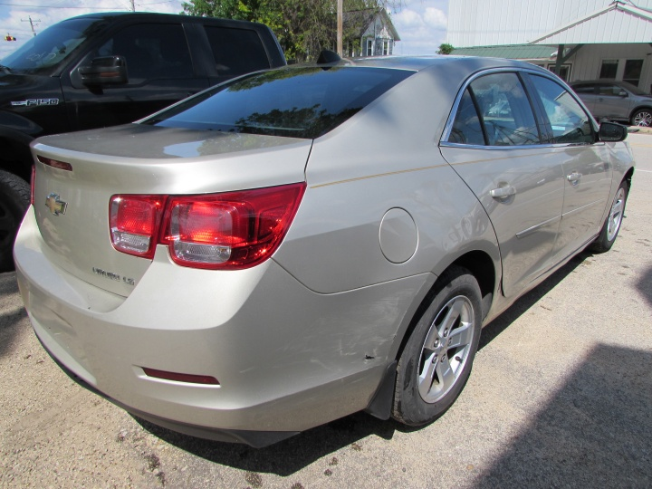 2014 Chevy Malibu LS Rear Right