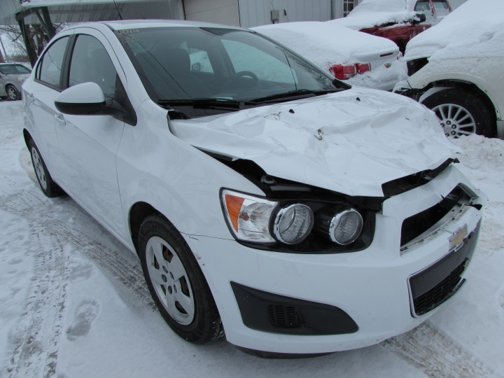 2014 Chevy Sonic LS Front Right