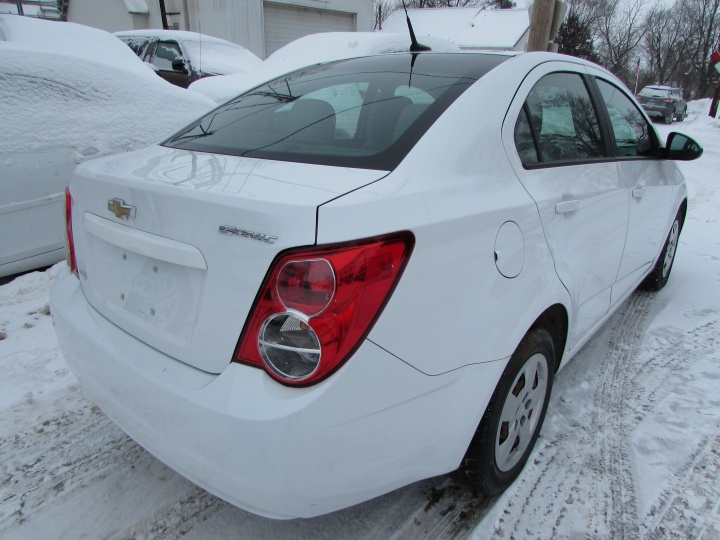 2014 Chevy Sonic LS Rear Right