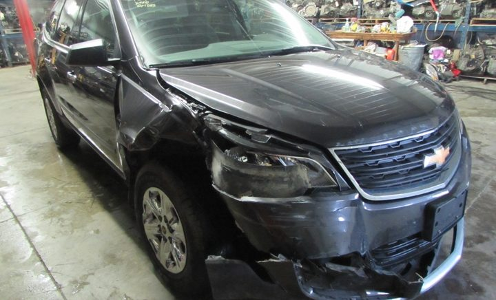 2014 Chevy Traverse LS Front Right