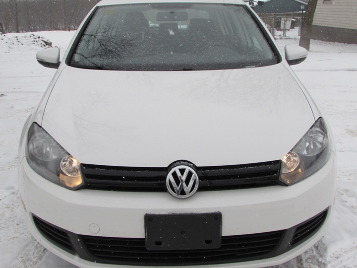 2014 VW Golf Front