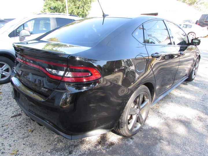 2015 Dodge Dart GT Rear Right