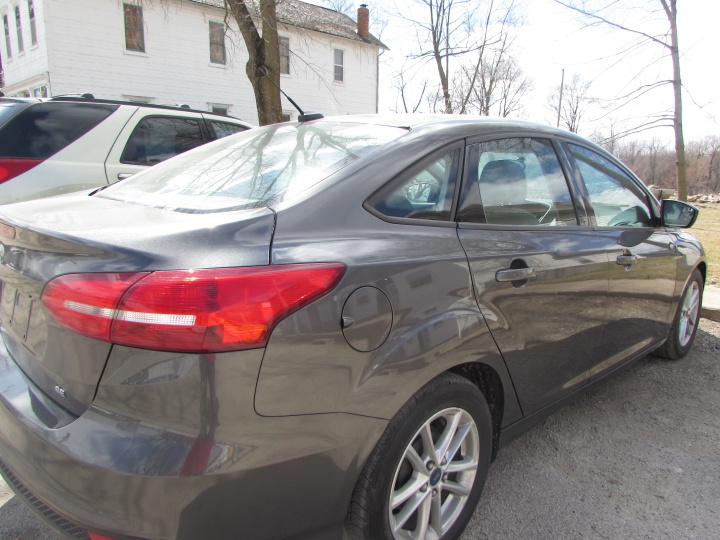 2015 Ford Focus SE Rear Right