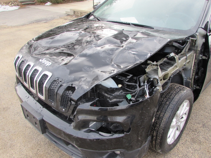 2015 Jeep Cherokee Latitude Damage