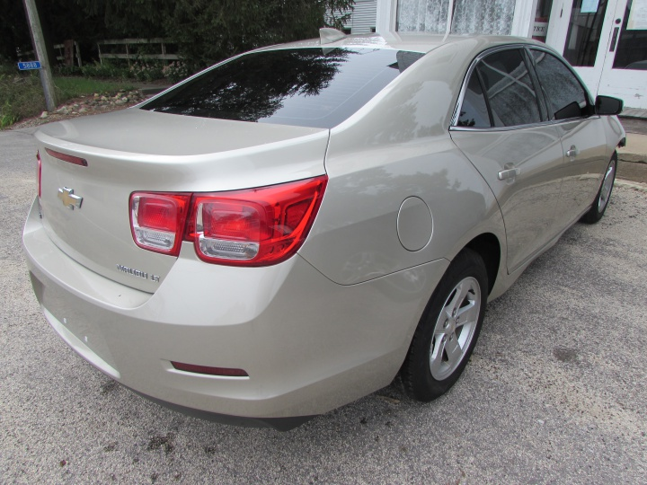 2015 Chevy Malibu 1LT Rear Right