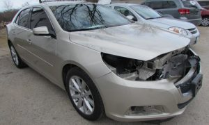 2015 Chevy Malibu LT Front Right
