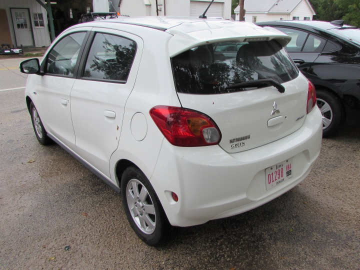 2015 Mitsubishi Mirage ES Rear Left