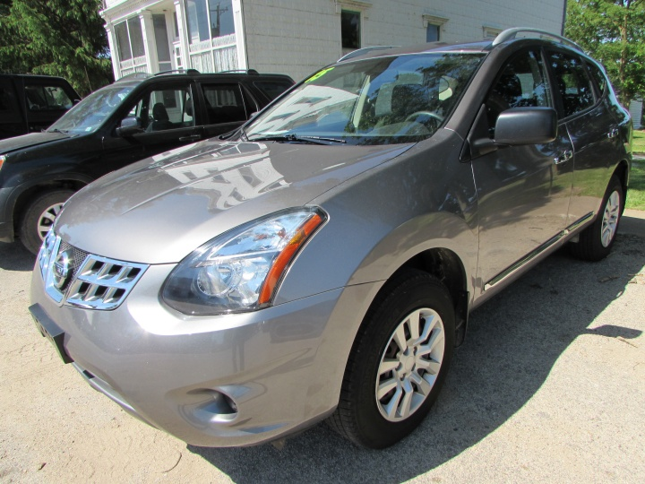 2015 Nissan Rogue Select Front Left
