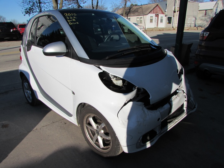 2015 Smart Fortwo Front Right