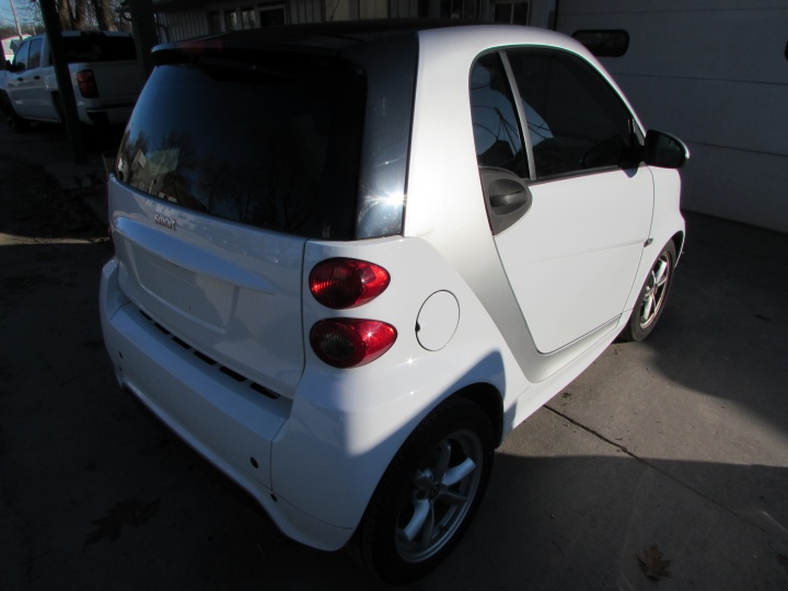 2015 Smart Fortwo Rear Right