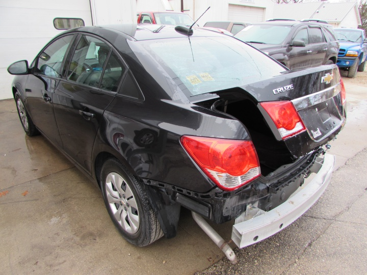 2016 Chevy Cruze LS Rear Left