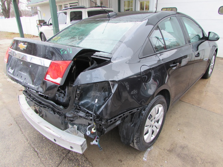 2016 Chevy Cruze LS Rear Right