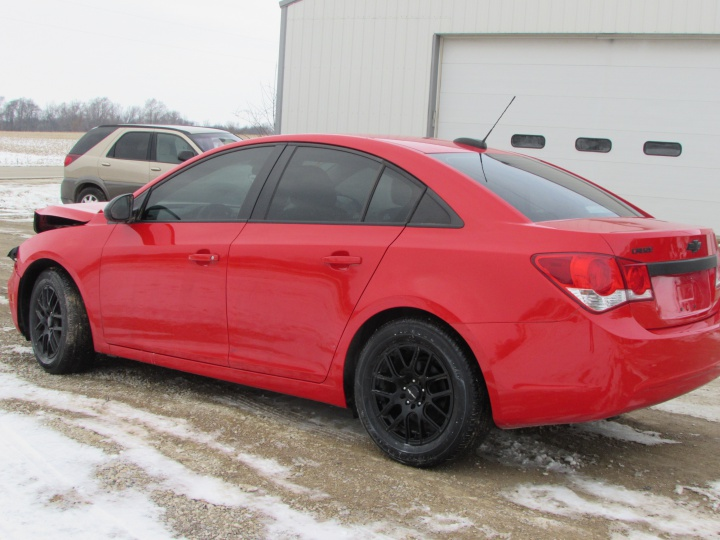2016 Chevy Cruze LT Rear Left