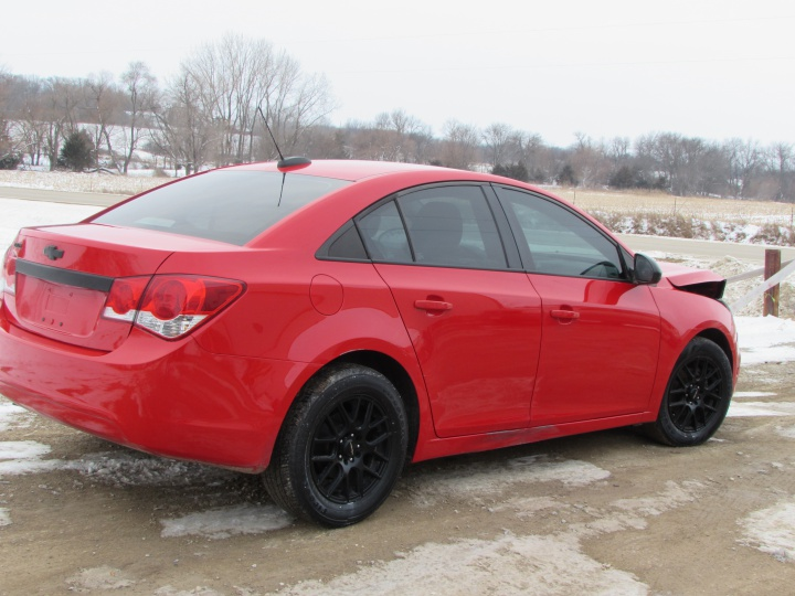 2016 Chevy Cruze LT Rear Right
