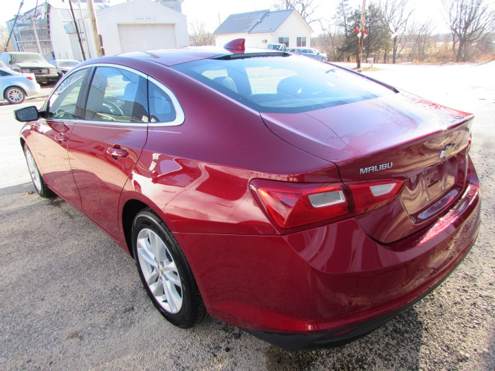 2016 Chevy Malibu LT Rear Left