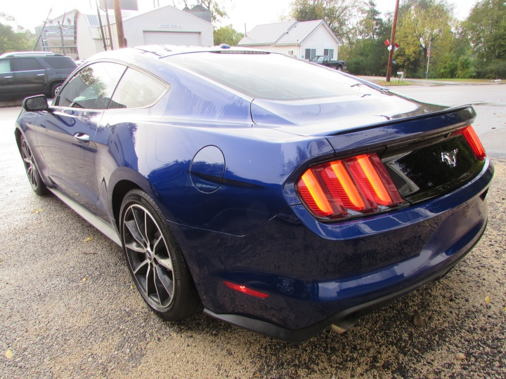 2016 Ford Mustang EcoBoost Rear Left