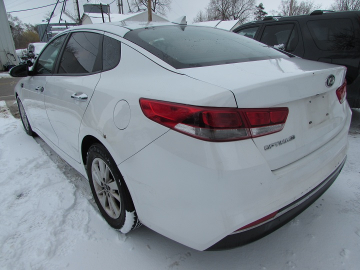 2016 Kia Optima LX Rear Left