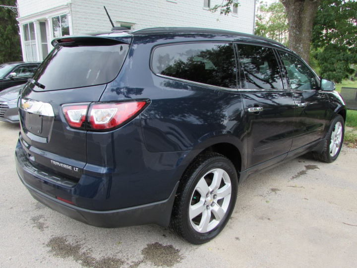 2016 Chevy Traverse LT Rear Right