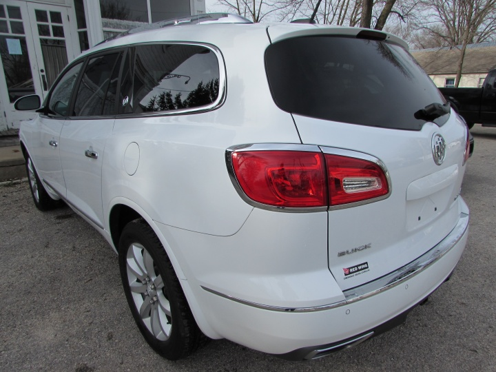 2017 Buick Enclave AWD Rear Left