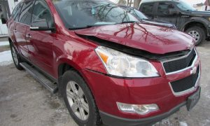 2012 Chevy Traverse LT Front Right