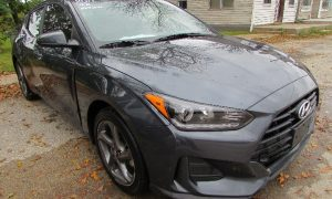 2019 Hyundai Veloster Front Right